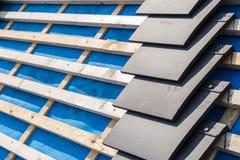 Ανακαίνιση και επισκευή κατασκευής σπιτιών Στοκ Εικόνες