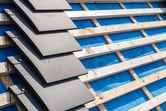 Ανακαίνιση κατασκευής σπιτιών και Πε Στοκ Φωτογραφία