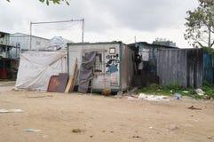 Ανακαίνιση κατοικίας εμπορευματοκιβωτίων Στοκ εικόνα με δικαίωμα ελεύθερης χρήσης
