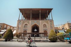 Ανακαίνιση σε Ispahan στοκ εικόνες με δικαίωμα ελεύθερης χρήσης