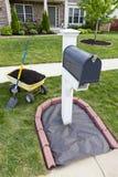 ανακαίνιση ταχυδρομικών θυρίδων στοκ εικόνες
