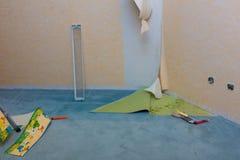Ανακαίνιση του δωματίου ενός παιδιού στοκ φωτογραφία με δικαίωμα ελεύθερης χρήσης