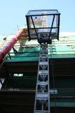 ανακαινίσεις οικοδόμησης κάτω Στοκ φωτογραφίες με δικαίωμα ελεύθερης χρήσης