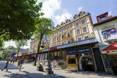 Ανακαινισμένο ξενοδοχείο Morskie Oko σε Zakopane Στοκ Εικόνες