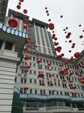 Ανακαλύψτε την ιστορία διαβίωσης της Hong Kong's με το γύρο TramOramic στοκ εικόνα με δικαίωμα ελεύθερης χρήσης