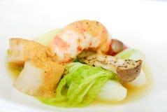 Ανακατώνω-τηγανισμένα μικτά λαχανικά Στοκ εικόνα με δικαίωμα ελεύθερης χρήσης
