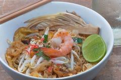 Ανακατώστε την Ταϊλάνδη τύλιξε τα τηγανισμένα αυγά Στοκ εικόνα με δικαίωμα ελεύθερης χρήσης