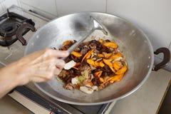 Ανακατώστε το λαχανικό τηγανητών Στοκ φωτογραφία με δικαίωμα ελεύθερης χρήσης