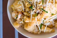 Ανακατώστε το τηγανισμένο στομάχι ψαριών στοκ φωτογραφία με δικαίωμα ελεύθερης χρήσης