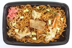 Ανακατώστε το τηγανισμένο yakisoba νουντλς στοκ εικόνες με δικαίωμα ελεύθερης χρήσης