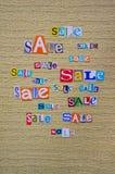 Ανακοίνωση της πώλησης Στοκ εικόνες με δικαίωμα ελεύθερης χρήσης