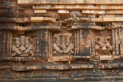 Ανακούφιση και καταστροφή των ινδών ναών στο γιο μου στο Βιετνάμ Στοκ Εικόνες