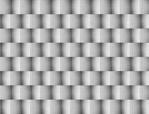 Ανακούφιση με τις άσπρες σκιές των κύβων Στοκ Φωτογραφίες