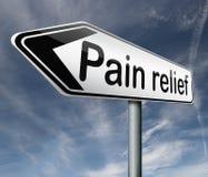 Ανακούφιση πόνου διανυσματική απεικόνιση