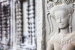 Ανακούφιση Apsara σε Angkor Wat Στοκ φωτογραφία με δικαίωμα ελεύθερης χρήσης