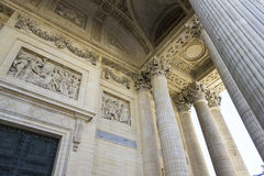 Ανακούφιση Bas, Pantheon, Παρίσι, Γαλλία Στοκ Φωτογραφίες