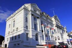 Ανακτορική οικοδόμηση Hastings Ηνωμένο Βασίλειο στοκ εικόνες