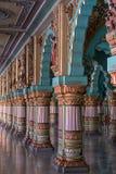 Ανακτορικός διάδρομος στο Mysore, Ινδία Στοκ φωτογραφία με δικαίωμα ελεύθερης χρήσης