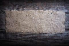 Ανακυκλωμένο εκλεκτής ποιότητας ξύλο εγγράφου eco grunge στοκ εικόνα με δικαίωμα ελεύθερης χρήσης