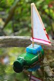 Ανακυκλώνοντας παιχνίδι παιδιών Στοκ φωτογραφία με δικαίωμα ελεύθερης χρήσης