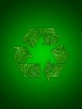 ανακυκλώνοντας σύμβολο Στοκ Εικόνες