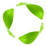 ανακυκλώνοντας σύμβολ&omicro Στοκ Εικόνα
