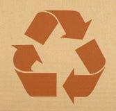 ανακυκλώνοντας σύμβολ&omicro Στοκ εικόνα με δικαίωμα ελεύθερης χρήσης