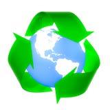 ανακυκλώστε μειώνει την &e Στοκ Φωτογραφία