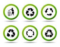 ανακυκλώστε το διάνυσμ&alph Στοκ Φωτογραφία
