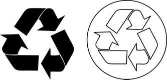 ανακυκλώστε το διάνυσμ&alph Στοκ Φωτογραφίες