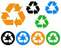 ανακυκλώστε το διάνυσμ&alph Στοκ φωτογραφίες με δικαίωμα ελεύθερης χρήσης