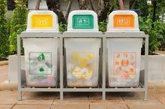 Ανακυκλώστε το δοχείο Στοκ φωτογραφία με δικαίωμα ελεύθερης χρήσης