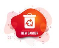 Ανακυκλώστε το εικονίδιο δοχείων Η επαναχρησιμοποίηση ή μειώνει το σύμβολο r ελεύθερη απεικόνιση δικαιώματος