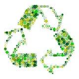 ανακυκλώστε το λευκό Στοκ Φωτογραφίες