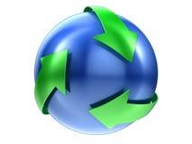 ανακυκλώστε το σημάδι Στοκ Εικόνες