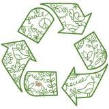 Ανακυκλώστε το σύμβολο Στοκ Εικόνες