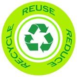 ανακυκλώστε το σύμβολο Στοκ Εικόνα