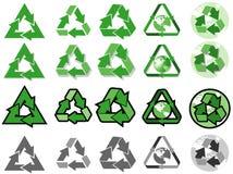ανακυκλώστε το σύμβολ&omicron Στοκ Εικόνα