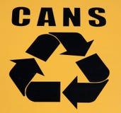 ανακυκλώστε το σύμβολ&omicron Στοκ Φωτογραφίες