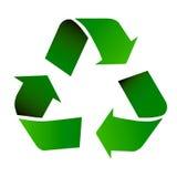 ανακυκλώστε το σύμβολ&omicron Στοκ φωτογραφία με δικαίωμα ελεύθερης χρήσης