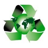 ανακυκλώστε το σύμβολ&omicron Στοκ εικόνα με δικαίωμα ελεύθερης χρήσης