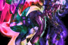 Ανακυκλωμένη τέχνη καπνού στοκ φωτογραφία με δικαίωμα ελεύθερης χρήσης