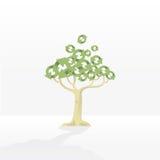 ανακυκλώνοντας δέντρο διανυσματική απεικόνιση