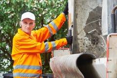 Ανακυκλώνοντας απόβλητα και απορρίματα Στοκ Εικόνα