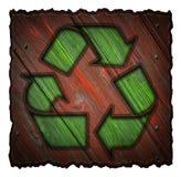 ανακυκλώνοντας σύμβολ&omicro Στοκ φωτογραφία με δικαίωμα ελεύθερης χρήσης