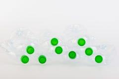 Ανακυκλώσιμα απορρίματα των πλαστικών μπουκαλιών Στοκ εικόνα με δικαίωμα ελεύθερης χρήσης
