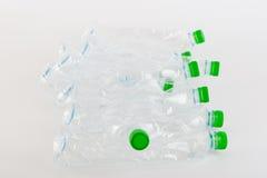 Ανακυκλώσιμα απορρίματα των πλαστικών μπουκαλιών Στοκ Εικόνες