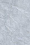 Ανακυκλώστε εγγράφου σκονών την μπλε σύσταση Grunge χονδροειδούς σιταριού τσαλακωμένη Στοκ Φωτογραφία