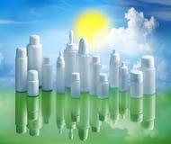 Ανακυκλώστε και έννοια περιβάλλοντος ικανότητας υποστήριξης Στοκ εικόνα με δικαίωμα ελεύθερης χρήσης