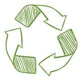 Ανακυκλώστε τα βέλη απεικόνιση αποθεμάτων